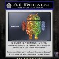 Android Official Logo Decal Sticker Glitter Sparkle 120x120
