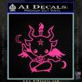 Baby Baphomet Decal Sticker Pink Hot Vinyl 120x120