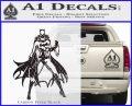 Bat Girl Full Decal Sticker Carbon FIber Black Vinyl 120x97