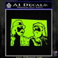 Cheech And Chong D2 Decal Sticker Lime Green Vinyl 120x120