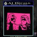 Cheech And Chong D2 Decal Sticker Pink Hot Vinyl 120x120