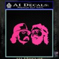 Cheech And Chong Decal Stickers Pink Hot Vinyl 120x120