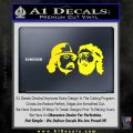 Cheech And Chong Decal Stickers Yellow Laptop 120x120