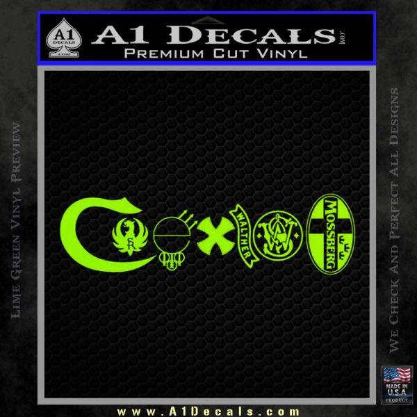 Coexist Gun Sticker Bing Images