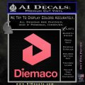 Diemaco Firearms Decal Sticker Pink Emblem 120x120