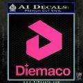 Diemaco Firearms Decal Sticker Pink Hot Vinyl 120x120