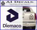 Diemaco Firearms Decal Sticker PurpleEmblem Logo 120x97