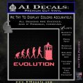 Doctor Who Evolution D2 Decal Sticker Pink Emblem 120x120