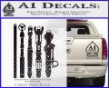 Doctor Who Sonic Screwdriver Collection Decal Sticker Carbon FIber Black Vinyl 120x97