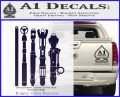 Doctor Who Sonic Screwdriver Collection Decal Sticker PurpleEmblem Logo 120x97