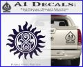 Doctor Who Superwho Seal Of Rassilon Decal Sticker PurpleEmblem Logo 120x97