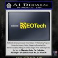 Eotech Firearms Decal Sticker Yellow Laptop 120x120