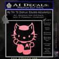 Hello Kitty Spock Decal Sticker Soft Pink Emblem Black 120x120