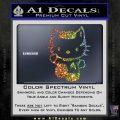 Hello Kitty Spock Decal Sticker Spectrum Vinyl Black 120x120