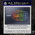 Mauser Firearms Decal Sticker Glitter Sparkle 120x120