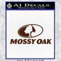 Mossy Oak Decal Sticker BROWN Vinyl 120x120