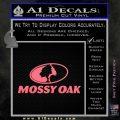 Mossy Oak Decal Sticker Pink Emblem 120x120
