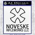 Noveske Rifleworks Llc Decal Sticker Black Vinyl 120x120
