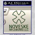 Noveske Rifleworks Llc Decal Sticker Dark Green Vinyl 120x120