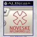 Noveske Rifleworks Llc Decal Sticker Red 120x120