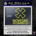Noveske Rifleworks Llc Decal Sticker Yellow Laptop 120x120