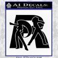 Pokemon Team Rocket Decal Sticker Black Vinyl 120x120