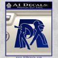 Pokemon Team Rocket Decal Sticker Blue Vinyl 120x120