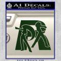 Pokemon Team Rocket Decal Sticker Dark Green Vinyl 120x120