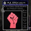 Resistance Fist Decal Sticker Power Pink Emblem 120x120