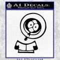 South Park Kenny Decal Sticker Black Dead Vinyl Black 120x120