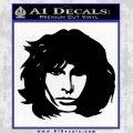 The Doors Jim Morrison Decal Sticker Black Vinyl Black 120x120