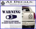 vehicle records surrounding traffic Decal Sticker PurpleEmblem Logo 120x97