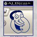 Family Guy Quagmire Decal Sticker Blue Vinyl 120x120