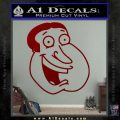 Family Guy Quagmire Decal Sticker DRD Vinyl 120x120