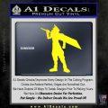 Final Fantasy VII Cloud Strife Decal Sticker Yellow Laptop 120x120