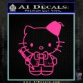 Hello Kitty Doctor Who Fez Decal Sticker Pink Hot Vinyl 120x120