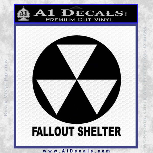 Fallout Car Sticker Fallout Shelter Decal Sticker