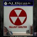 Fallout Shelter Decal Sticker DRD Vinyl 120x120