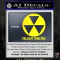 Fallout Shelter Decal Sticker Yellow Laptop 120x120