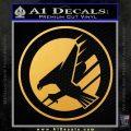GDI Steel Talons Decal Sticker Gold Vinyl 120x120