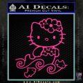 Hello Kitty Mermaid Decal Sticker Pink Hot Vinyl 120x120