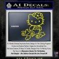 Hello Kitty Mermaid Decal Sticker Yellow Laptop 120x120