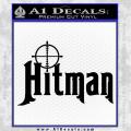 Hitman Hunting Decal Sticker Black Vinyl 120x120