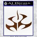 Hitman Video Game Decal Sticker Brown Vinyl 120x120