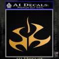 Hitman Video Game Decal Sticker Gold Metallic Vinyl 120x120