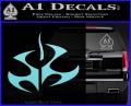 Hitman Video Game Decal Sticker Light Blue Vinyl 120x97