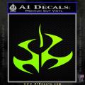 Hitman Video Game Decal Sticker Neon Green Vinyl 120x120