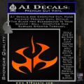 Hitman Video Game Decal Sticker Orange Emblem 120x120