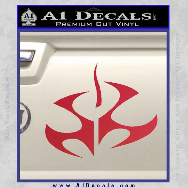 Hitman Video Game Decal Sticker Red Vinyl