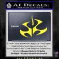 Hitman Video Game Decal Sticker Yellow Vinyl 120x120